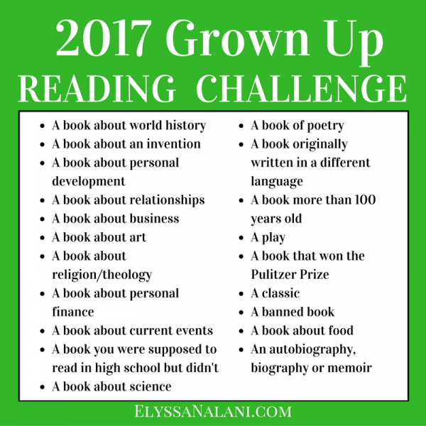 reading challenges Devoted readers and aspiring readers: want to get more out of your reading life in 2018 we've got a challenge just for you, and a free reading challenge kit to help you see it through.