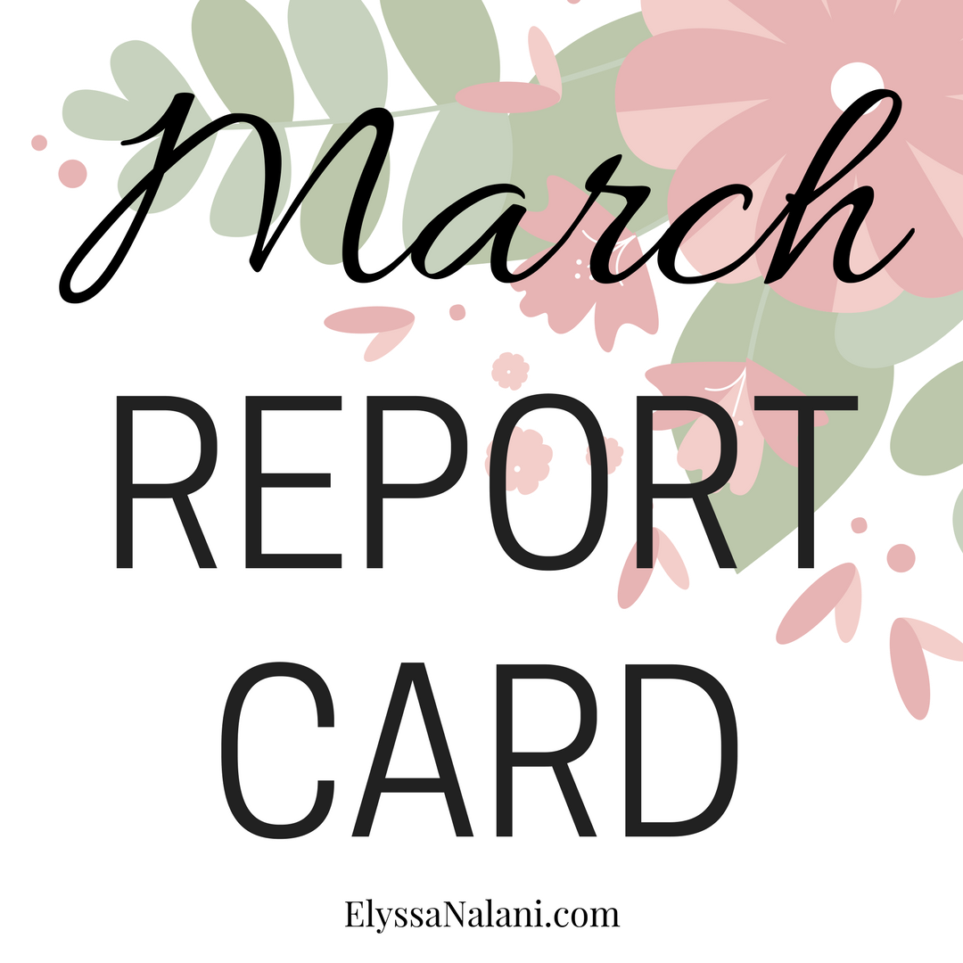 March Report Card