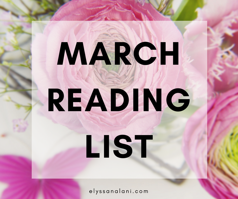 my march reading list