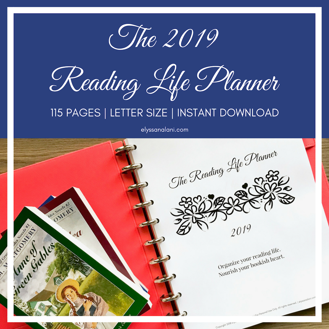 The 2019 Reading Life Planner – Printable Planner for Book Lovers