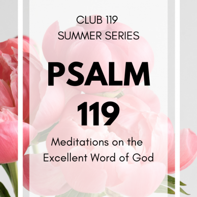 My Summer Scripture Journaling Series | CLUB 119