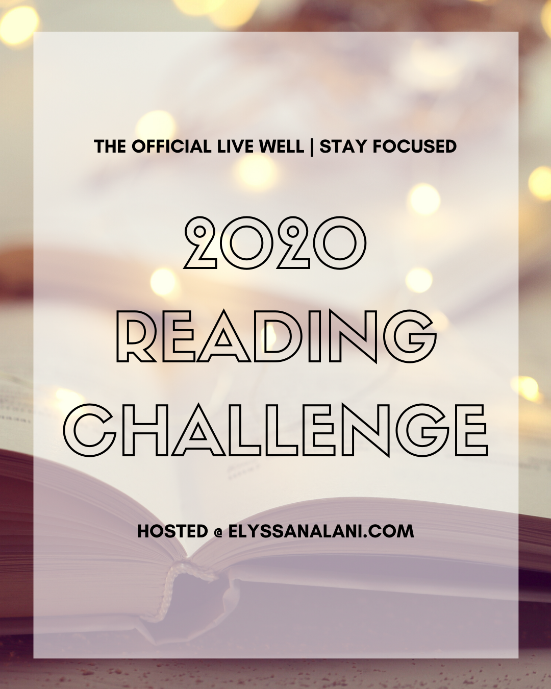 The Official Live Well | Stay Focused 2020 Reading Challenge