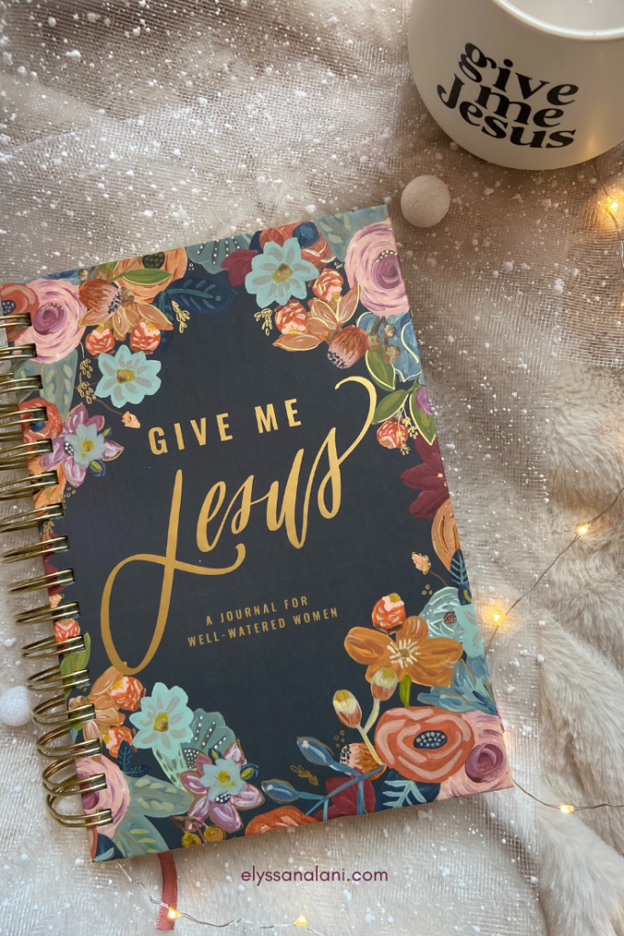 self care image to buy Give Me Jesus Journal