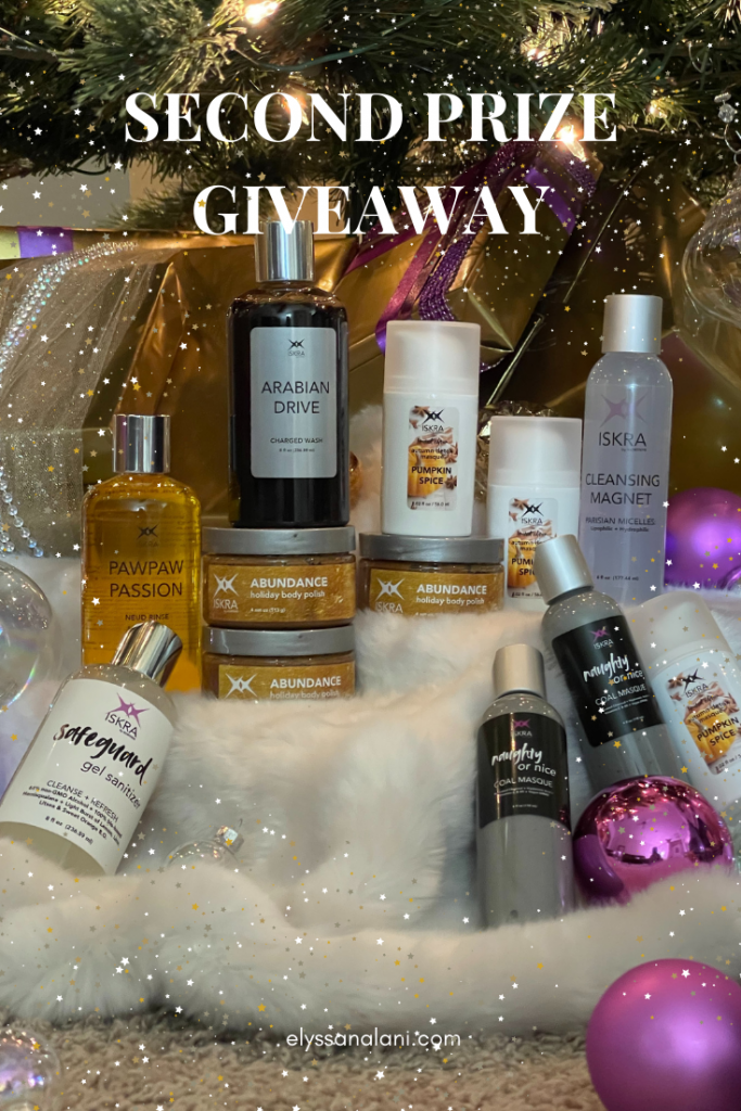 self care image for ISKRA second prize giveaway
