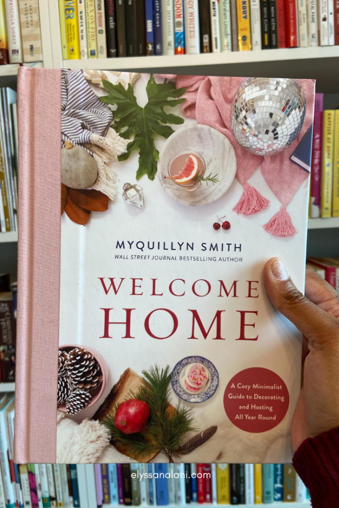 image of Welcome Home book by Myquillyn Smith self care